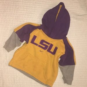 LSU Toddler Sweatshirt Hoodie